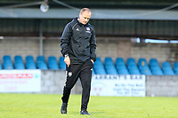 Cork City manager Colin Healy at full time.<br /> <br /> Cobh Ramblers v Cork City, SSE Airtricity League Division 1, 28/5/21, St. Colman's Park, Cobh.<br /> <br /> Copyright Steve Alfred 2021.