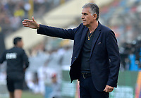 LIMA,PERÚ,09-06-2019:Carlos Queiroz director técnico de Colombia durante el encuentro contra Perú durante   partido amistoso de preparación para la Copa América de Brasil 2019 jugado en el estadio Monumental de Lima la ciudad de Lima./Carlos Queiroz coach of Colombia during match against of  Peru team during a friendly match in preparation for the 2019 Copa América of Brazil played at Lima's Monumental Stadium in Lima. Photo: VizzorImage / Cristian Alvarez / FCF