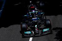 4th June 2021; Baku, Azerbaijan;  Free practise sessions;  44 HAMILTON Lewis (gbr), Mercedes AMG F1 GP W12 E Performance during the Formula 1 Azerbaijan Grand Prix 2021 at the Baku City Circuit, in Baku, Azerbaijan -
