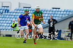Jason Diggin, Kerry in action against Mark Murphy, Wicklow in the Allianz National Hurling League Division 2A Round 4 at Austin Stack Park, Tralee on Saturday.