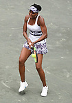 April 5,2017:   Venus Williams (USA) loses to Laura Siegemund (GER) 6-4, 6-7, 7-5, at the Volvo Car Open being played at Family Circle Tennis Center in Charleston, South Carolina.  ©Leslie Billman/Tennisclix/Cal Sport Media