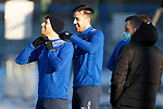 St Johnstone Training…. 29.12.20<br />Callum Booth and Guy Melamed pictured during training at McDiarmid Park this morning ahead of tomorrows game against Hamilton<br />Picture by Graeme Hart.<br />Copyright Perthshire Picture Agency<br />Tel: 01738 623350  Mobile: 07990 594431