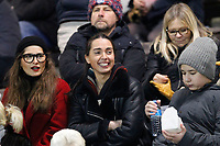 Fans await kick off during the Greene King IPA Championship match between London Scottish Football Club and Bedford Blues at Richmond Athletic Ground, Richmond, United Kingdom on 10 January 2020. Photo by Carlton Myrie.