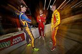 2017 IndyCar Media Day - Track Action<br /> Phoenix Raceway, Arizona, USA<br /> Friday 10 February 2017<br /> Alexander Rossi, Marco Andretti, Ryan Hunter-Reay<br /> World Copyright: Michael L. Levitt/LAT Images<br /> ref: Digital Image _AT_1534