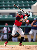 South Sumter Raiders Auston Chisenhall (13) during the 42nd Annual FACA All-Star Baseball Classic on June 5, 2021 at Joker Marchant Stadium in Lakeland, Florida.  (Mike Janes/Four Seam Images)