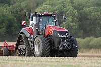 13-8-2021 Cultivating oilseed rape stubble <br /> ©Tim Scrivener Photographer 07850 303986<br />      ....Covering Agriculture In The UK....