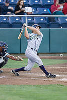 July 16, 2008:  The Eugene Emeralds' Ryan Hill at-bat during a Northwest League game against the Everett AquaSox at Everett Memorial Stadium in Everett, Washington.