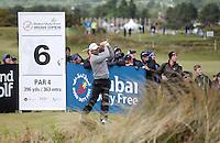 Sunday 31st May 2015; Padraig Harrington, Ireland, on the 6th tee box<br /> <br /> Dubai Duty Free Irish Open Golf Championship 2015, Round 4 County Down Golf Club, Co. Down. Picture credit: John Dickson / DICKSONDIGITAL