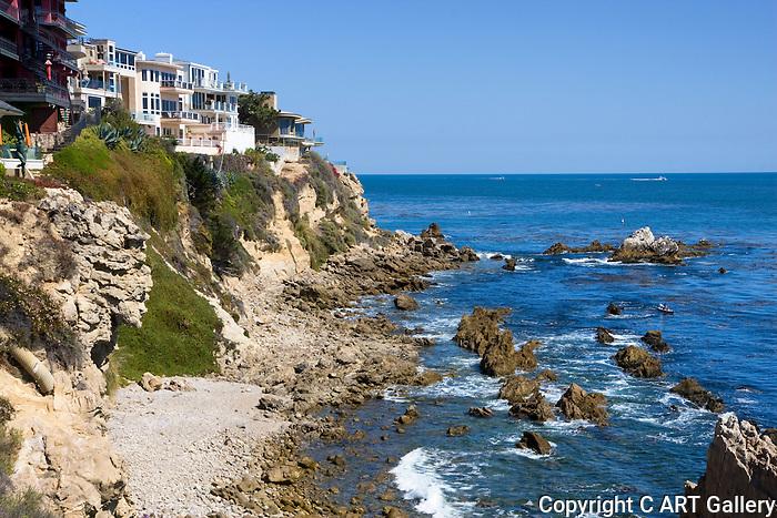 Rocky Coast, Corona del Mar, CA.
