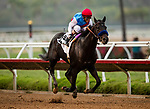 AUGUST 29 2021:  Medina Spirit and John Velazquez win the Shared Belief Stakes at Del Mar Fairgrounds in Del Mar, California on August 29, 2021. \
