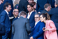 Rafa Nadal during Europa League Semi Finals First Leg match between Atletico de Madrid and Arsenal FC at Wanda Metropolitano in Madrid, Spain. May 03, 2018.   *** Local Caption *** © pixathlon<br /> Contact: +49-40-22 63 02 60 , info@pixathlon.de