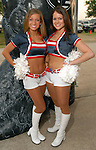 Rookie Houston Texan Cheerleaders Betsy and Nicole at the Cattle Baron's Ball at the George Ranch Saturday April 28,2007.(Dave Rossman/For the Chronicle)