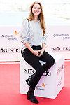 """French actress Fleur Geffrier pose to the media during the presentation of the film """"Mon Ange"""" at Festival de Cine Fantastico de Sitges in Barcelona. October 11, Spain. 2016. (ALTERPHOTOS/BorjaB.Hojas)"""