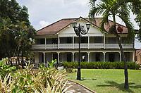 France/DOM/Martinique/Sainte-Marie: Rhumerie Saint-James AOC Rhum de la Martinique- La Maison créole  des propriétaires qui abrite le Musée du Rhum