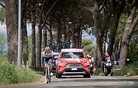 Lone breakaway rider Sho Hatsuyama (JAP/Nippo-Vini Fantini) up front for most of the day<br /> <br /> Stage 3: Vinci to Orbetello (219km)<br /> 102nd Giro d'Italia 2019<br /> <br /> ©kramon