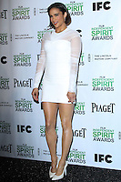 HOLLYWOOD, CA - NOVEMBER 26: Actress Paula Patton attends the 2014 Film Independent Spirit Awards - Nominations Press Conference held at W Hollywood on November 26, 2013 in Hollywood, California. (Photo by David Acosta/Celebrity Monitor)