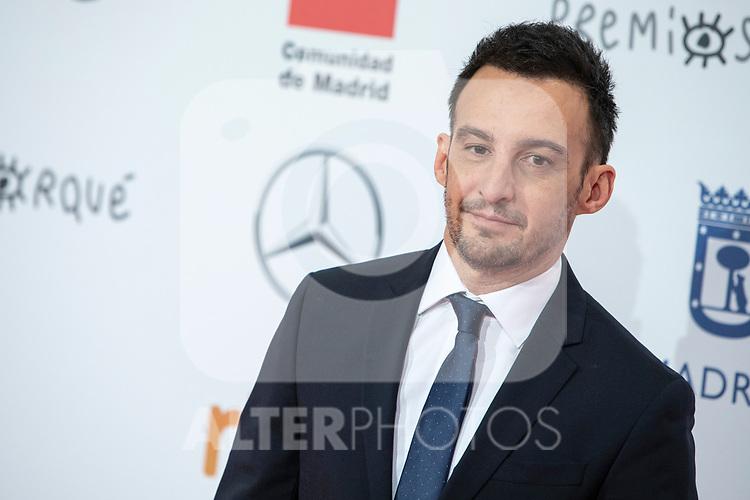 Alejandro Amenabar attends Forque Awards.<br /> January  11, 2020.<br /> (ALTERPHOTOS/David Jar)