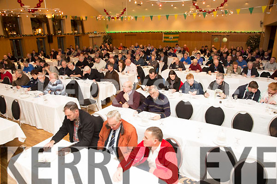 AGM: Delegates at the Kerry County Board at their annual general meeting at the Ballyroe Heights hotel on Monday