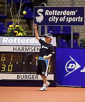 10-12-09, Rotterdam, Tennis, REAAL Tennis Masters 2009, Ballenkind