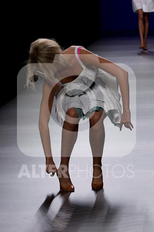 03.09.2012. Models walk the runway in the TCN fashion show during the Mercedes-Benz Fashion Week Madrid Spring/Summer 2013 at Ifema. (Alterphotos/Marta Gonzalez)