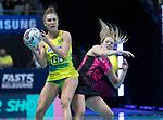 28/10/17 Fast5 2017<br /> Fast 5 Netball World Series<br /> Hisense Arena Melbourne<br /> Australia v New Zealand<br /> <br /> Sarah Klau<br /> <br /> <br /> <br /> Photo: Grant Treeby
