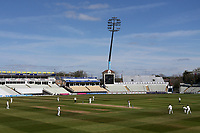 General view of play during Warwickshire CCC vs Essex CCC, LV Insurance County Championship Group 1 Cricket at Edgbaston Stadium on 25th April 2021