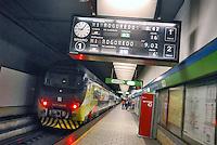 - Milan suburban railways, Garibaldi station....- Passante Ferroviario di Milano, stazione Garibaldi