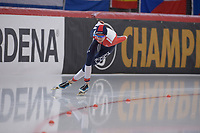 SPEEDSKATING: INZELL: Max Aicher Arena, 09-02-2019, ISU World Single Distances Speed Skating Championships, 5000m Ladies, Martina Sablikova (CZE), ©photo Martin de Jong