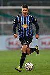 13.01.2021, xtgx, Fussball 3. Liga, VfB Luebeck - SV Waldhof Mannheim emspor, v.l. Marcel Costly (Mannheim, 17) Freisteller, Einzelbild, Ganzkoerper, single frame <br /> <br /> (DFL/DFB REGULATIONS PROHIBIT ANY USE OF PHOTOGRAPHS as IMAGE SEQUENCES and/or QUASI-VIDEO)<br /> <br /> Foto © PIX-Sportfotos *** Foto ist honorarpflichtig! *** Auf Anfrage in hoeherer Qualitaet/Aufloesung. Belegexemplar erbeten. Veroeffentlichung ausschliesslich fuer journalistisch-publizistische Zwecke. For editorial use only.