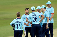 Ryan ten Doeschate of Essex celebrates taking the wicket of Callum Guest during Essex Eagles vs Cambridgeshire CCC, Domestic One-Day Cricket Match at The Cloudfm County Ground on 20th July 2021