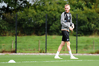 Oli McBurnie of Swansea City during the Swansea City Training Session at The Fairwood Training Ground, Wales, UK. Tuesday 11th September 2018