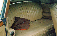 BNPS.co.uk (01202 558833)<br /> Pic: H&HClassics/BNPS<br /> <br /> Luxury leather... The car in 2006 after emerging from 40 years of storage and before its 'nut & bolt' restoration.<br /> <br /> 'W.O. Bentley's Masterpeice' - This 1939 stunner dubbed 'the most the most advanced motor car in pre WW2 Britain' has been restored for sale - but you'll need deep pockets for the £400.000 asking price.<br /> <br /> The beautiful Lagonda V12 Drophead Coupe was designed by W.O.Bentley just as storm clouds were gathering across Europe, and it's top speed of 140mph was unheard of at the time.<br /> <br /> It spent more than 40 years languishing in a barn before being uncovered in 2006.<br /> <br /> It was bought by a wealthy car enthusiast who paid for it to undergo a full 'nuts and bolts' restoration.<br /> <br /> The motor now appears as good as new and is to go under the hammer with auctioneers H&H Classics of Warrington, Cheshire.