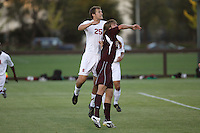 23 August 2007: Stanford Cardinal Scott Bolkan during Stanford's 1-0 loss against the Denver Pioneers at Maloney Field in Stanford, CA.