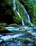 Boulder Creek Falls Snohomish County west of Darrington Washington state