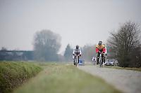 Paris-Roubaix 2013 RECON..AG2R-LaMondiale recon.