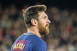 Lionel Messi of FC Barcelona during the La Liga 2017-18 match between FC Barcelona and Deportivo La Coruna at Camp Nou Stadium on 17 December 2017 in Barcelona, Spain. Photo by Vicens Gimenez / Power Sport Images