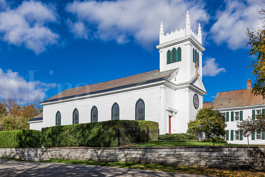 Zion Episcopal Church was founded in 1782, Manchester, Vermont, USA.