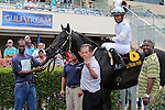 August 08, 2015:  Dream Of Me (FL), with jockey Eduardo Nunez on board wins the Florida Sire Stakes Dr. Fager Division at Gulfstream Park in Hallandale Beach, FL.  #3 Golden Pirate (FL) takes 2nd. Liz Lamont/ESW/CSM