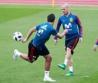 Spain's David Jimenez Silva during training session. May 29,2018.(ALTERPHOTOS/Acero) /NortePhoto.com