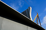 Steel overpass span for Florida 9A at J Turner Butler Blvd (JTB) Jacksonville Florida