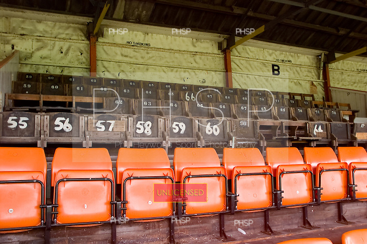 23/06/2000 Blackpool FC Bloomfield Road Ground..West stand Wembley seats.....© Phill Heywood.