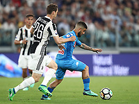 Calcio, Serie A: Juventus - Napoli, Torino, Allianz Stadium, 22 aprile, 2018.<br /> in action during the Italian Serie A football match between Juventus and Napoli at Torino's Allianz stadium, April 22, 2018.<br /> UPDATE IMAGES PRESS/Isabella Bonotto