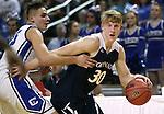 Coronado's Kennedy Koehler battles Carson's Jayden Dejoseph during the NIAA Division I state basketball tournament in Reno, Nev. on Thursday, Feb. 25, 2016. Cathleen Allison/Las Vegas Review-Journal