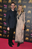 """Robert Brotherton and Donna Air at the """"Tina: The Tina Turner Musical"""" Refuge gala performance, Aldwych Theatre, Aldwych, on Sunday 10th October 2021, in London, England, UK. <br /> CAP/CAN<br /> ©CAN/Capital Pictures"""