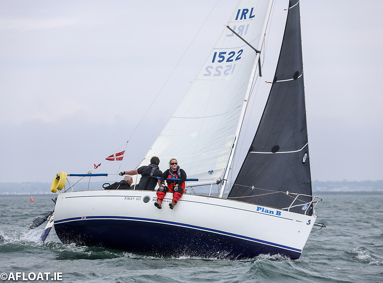 Plan B was third in DBSC's B211 One Design Tuesday race