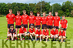 The Kenmare team that played in the Niall McGillicuddy memorial football blitz in Killarney on Saturday