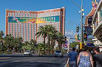 Las Vegas, Nevada.  Treasure Island Hotel and Casino, Las Vegas Boulevard, The Strip.