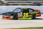 Ryan Sieg (39) in action during the NASCAR Nationwide Series qualifying at Texas Motor Speedway in Fort Worth,Texas.