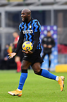Romelu Lukaku of FC Internazionale celebrates after scoring a goal during the Serie A football match between FC Internazionale and Torino FC at stadio San Siro in Milano (Italy), November 22th, 2020. Photo Image Sport / Insidefoto