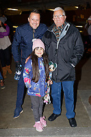 """Pictured: Bill Rix at the Christmas Parade Swansea, Wales, UK. Sunday 19 November 2018<br /> Re: Swansea Christmas parade attended by thousands has been branded a """"shambles"""" for having just three floats.<br /> The annual festive event in south Wales, which took place on Sunday, promised """"dynamic dance-troupes"""" as well as """"spectacular shows and stages"""".<br /> But the parade was scaled down, leading to a barrage of criticism on social media because of roadworks in the city centre. <br /> The leader of Swansea Council, Rob Stewart apologised on Facebook and said the parade was not """"good enough"""".<br /> Parents took on social media to voice their anger, calling the event """"a load of rubbish"""" and claiming there was nothing for young children apart from """"a loud music float with Santa on""""."""